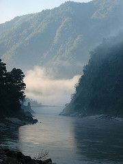 The Holy Ganges near Rishikesh