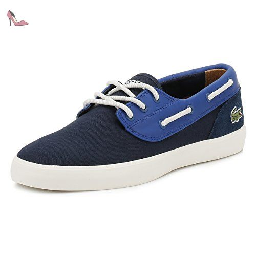 Lacoste Hommes Marine Jouer Deck 117 1 CAM Chaussures-UK 6 - Chaussures lacoste (*Partner-Link)