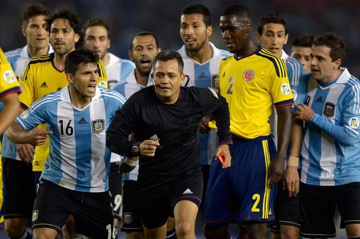 ArgentinaColombia, en imágenes Football, Football