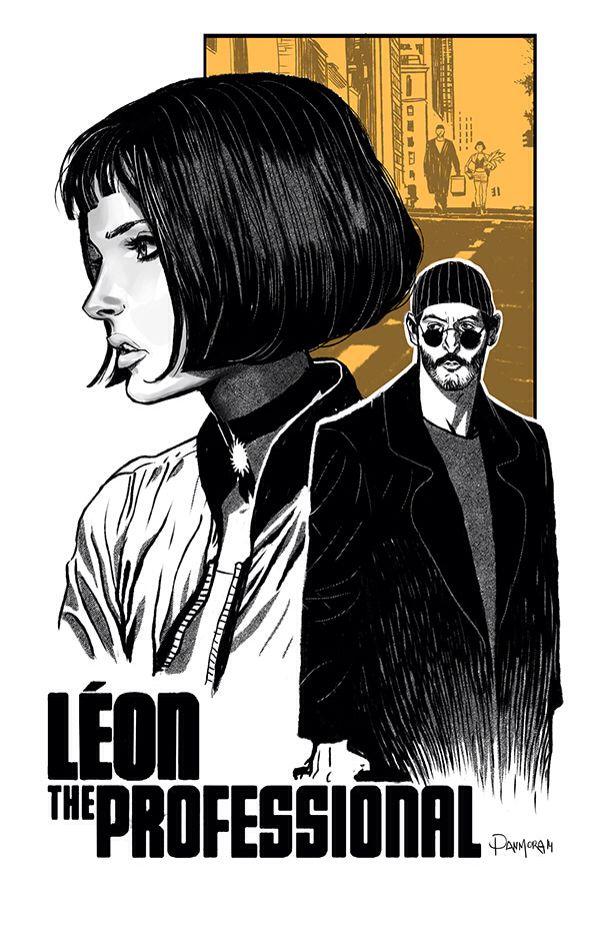 Léon the professional by DAN MORA