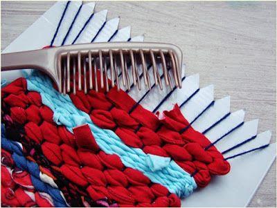 Diy tutorial homemade weaving loom Jak zrobić i używać krosno Diy