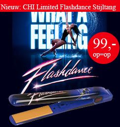 CHI Limited Flashdance Edition Stijltang inclusief Gratis CD + GRATIS silk naar keuze   CHI Stijltangen   het beste van Lindseys.nl
