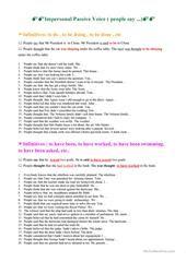 PASSIVE VOICE worksheet - Free ESL printable worksheets made by teachers