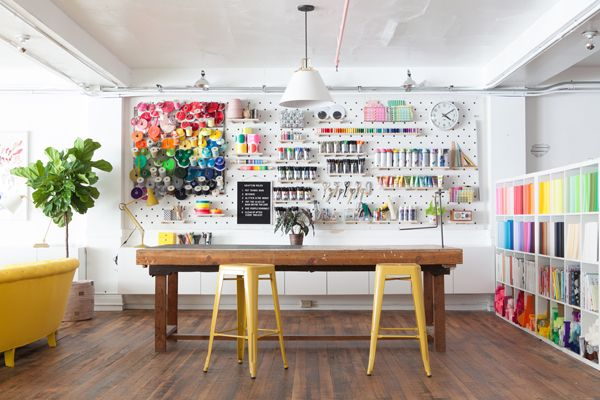 Craft room heaven by Oh Happy Day