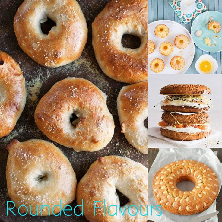 Not only donuts, but cakes, bagels and other sweets...Here are our Rounded Flavours!