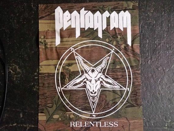 RealTree PENTAGRAM Limited Edition Relentless BACK by BADTASTECLUB