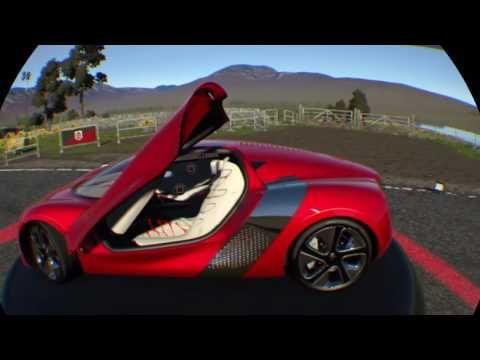 Mi Mundo Es Diferente Al Tuyo: Renault DeZir Driveclub Edition VR OnBoard Realida...