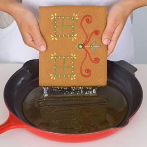 Caramel glue recipe