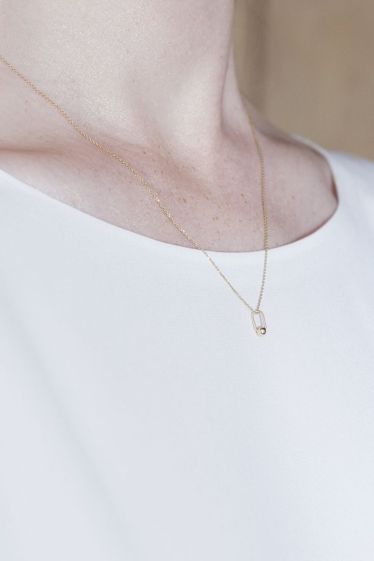 necklace - lullaby - Anna Lawska Jewellery / collection - closeness -
