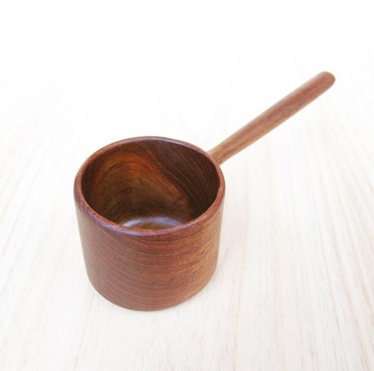 Wood spoon.