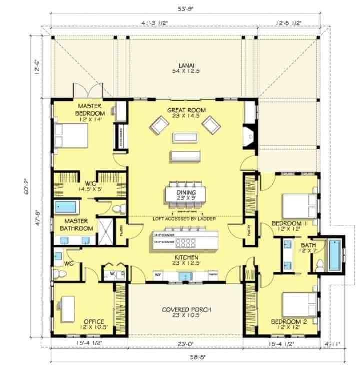 10 Coolest Farmhouse Plans For Your Inspiration Farmhouse Style House Plans House Plans Farmhouse House Floor Plans