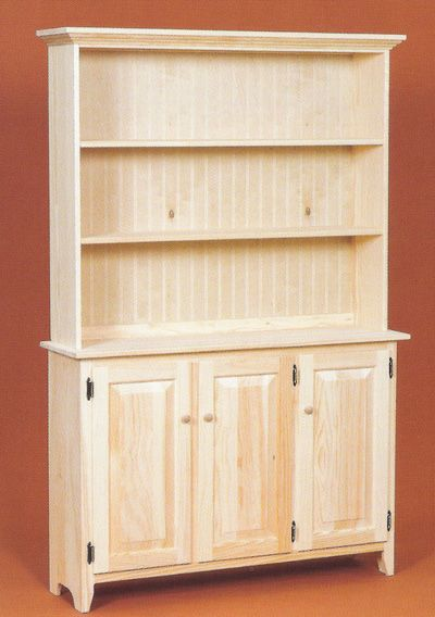 Best 25 unfinished pine furniture ideas on pinterest for In stock cabinets near me