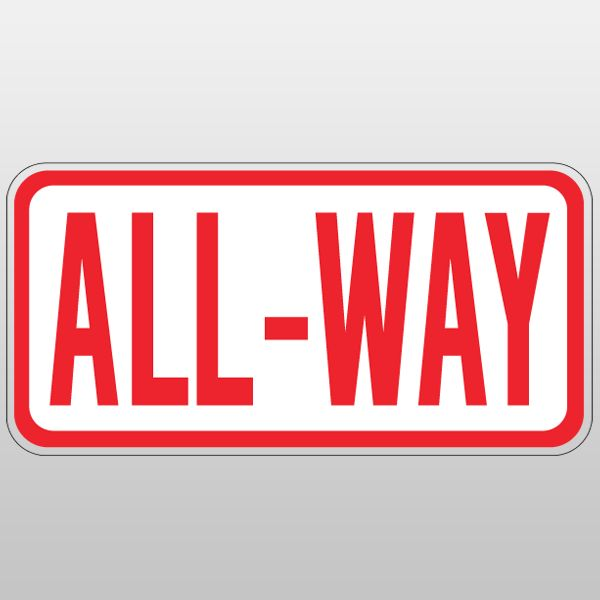 All-way Stop may be appropriate to install STOP signs on all approaches to an intersection.