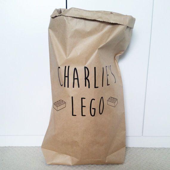 CUSTOM TOY BAG   White Or Brown Strong Paper Storage Sack Bag  55x85cm/50x76cm