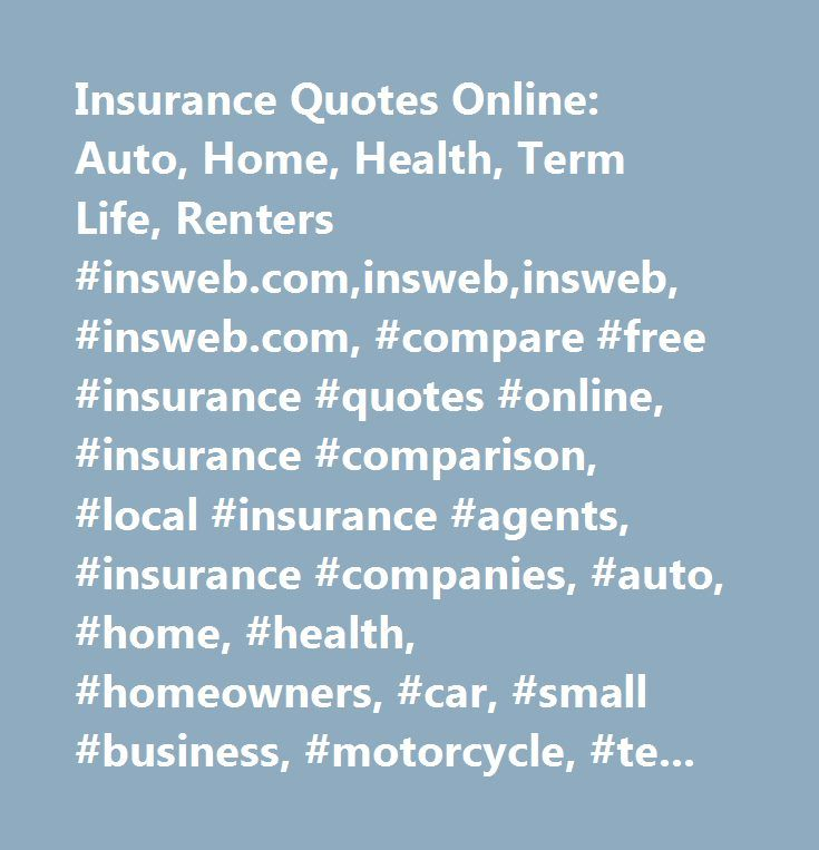 Compare Term Life Insurance Quotes: The 25+ Best Online Insurance Ideas On Pinterest