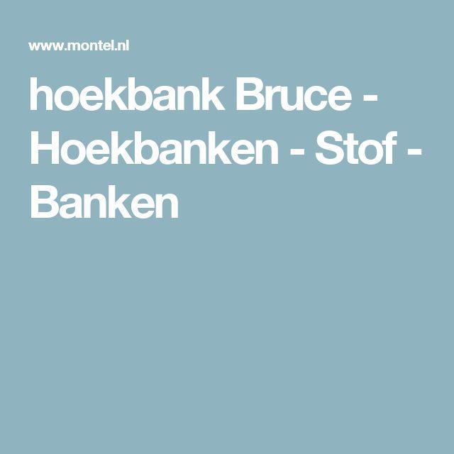 hoekbank Bruce - Hoekbanken - Stof - Banken