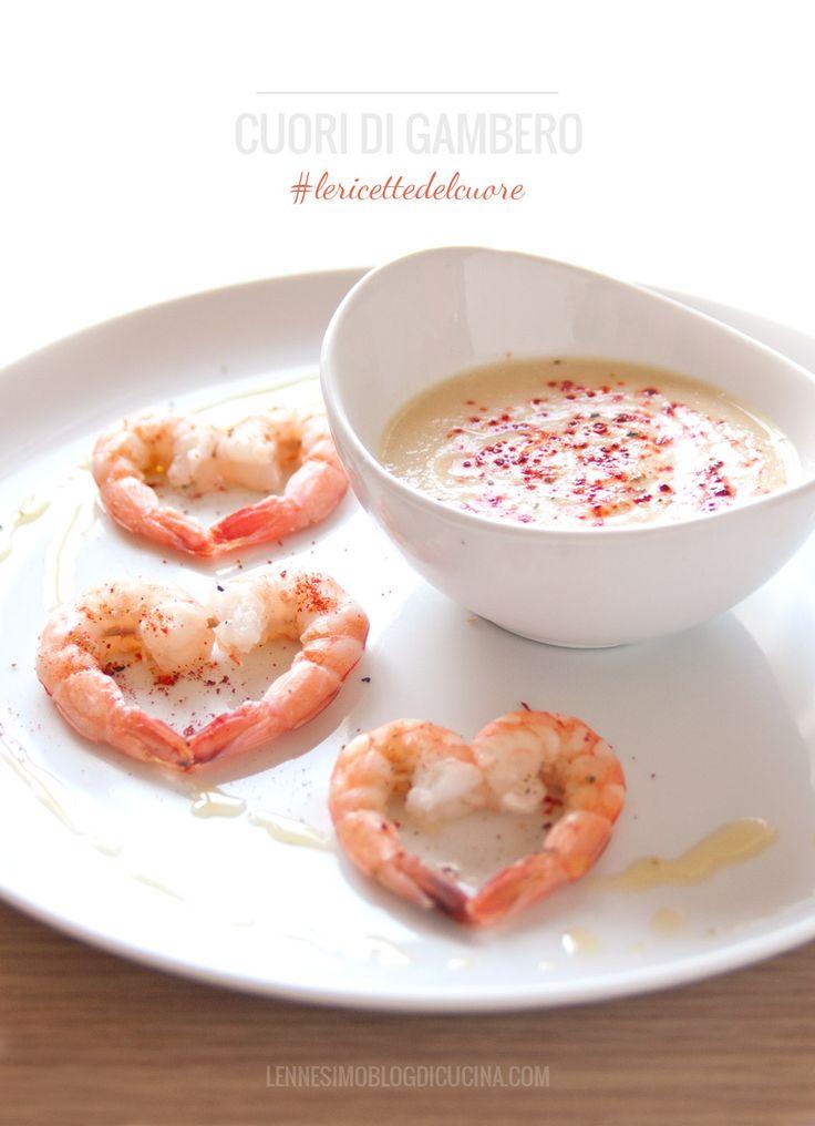 Una romantica ricetta per la cena di San Valentino, una vellutata di cavolfiori davvero speciale.