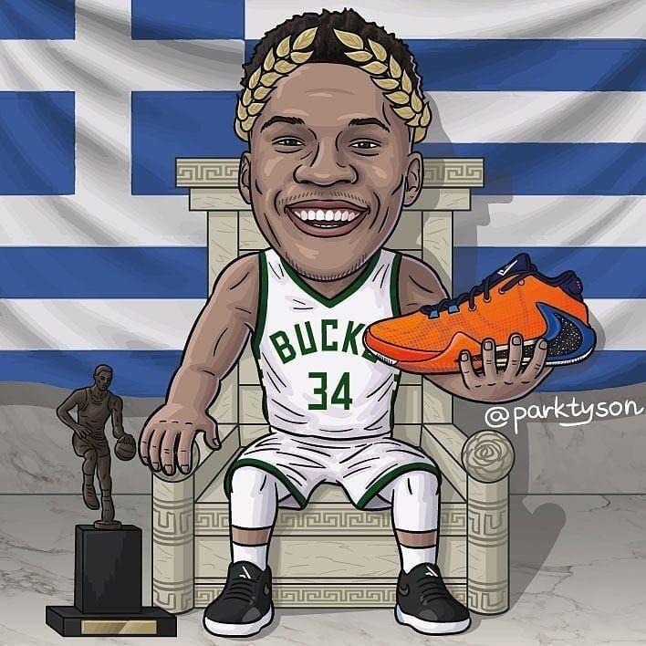 Giannis Antetokounpo Antetokounmpo Giannisantetokounmpo Freak1 Nike Nikeshoes Nikebasketball Nba Basketball Art Nba Mvp Basketball Players Nba