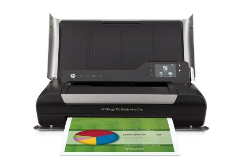 Welcome to my blog the place we will be looking at the new HP OJ 150 Mobile Wireless Color Printer with Copier.  The HP OJ 150 Mobile Wireless Color Printer with Copier  is best product, yet and it has really been purchased by so many purchasers. Right before we look at the consumer reports...
