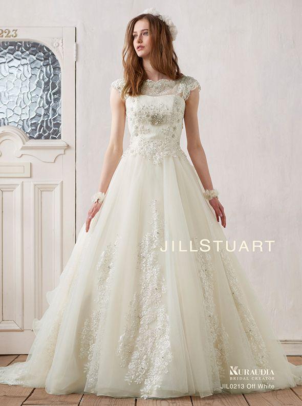 アクア・グラツィエがセレクトした、JILLSTUART(ジル スチュアート)のウェディングドレス、JIL0213をご紹介いたします。