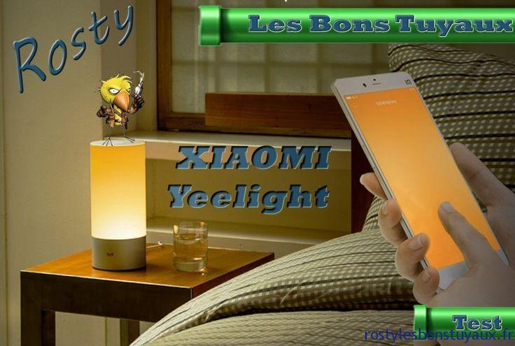 [TEST] Présentation de la Lampe de Chevet Connectée XIAOMI Yeelight LED  Bonjour  Aujourdhui je vais vous présenter une Lampe de Chevet Connectée il sagit de la XIAOMI Yeelight que je possède depuis quelques jours.    Présentation :  Si vous recherchez une lampe dappoint multicolore et contrôlable alors la lampe de chevet LED XIAOMI Yeelight est faite pour vous.  Il sagit dune lampe de chevet mais qui peut très bien se mettre dans un salon sur une commode dans un hall etc  Personnellement…