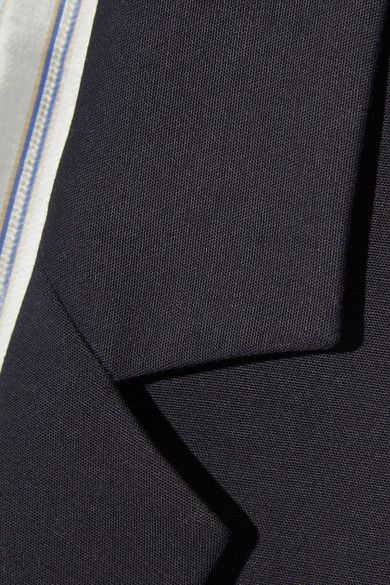 A.P.C. Atelier de Production et de Création - Taylor Stretch-cotton Blazer - Midnight blue - FR