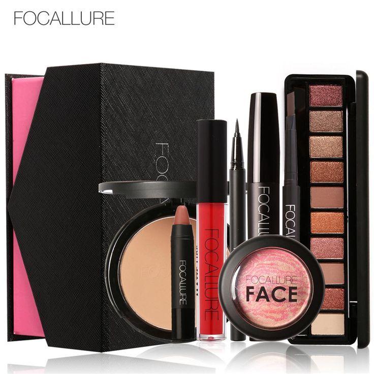Focallure 8 stks dagelijks gebruik cosmetica make sets maken cosmetics gift set tool kit make gift