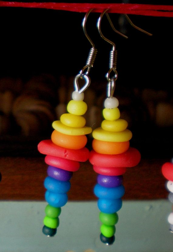 Polymer clay handmade earrings by Ralitsa by Inspiration2Art, $4.99