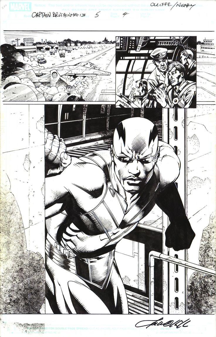Captain Britain Author: Pat Olliffe Marvel Comics 2008