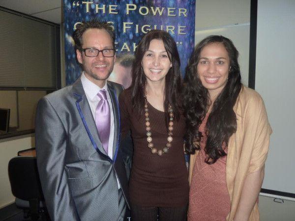 Shaune Clarke ( 6 figure speaker training) , Katrina Kavvalos and Clarinda