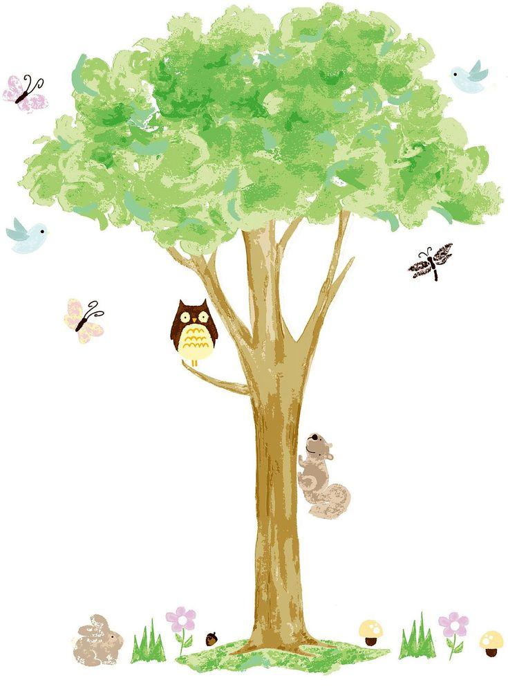 Dekorieren mit Bäumen ist ein Stück Natur und bringt eine bezaubernde Wandkunst an glatte Flächen. Der Wandsticker Eule auf dem Baum weiß durch einen entzückenden wie handgemalt wirkenden Baum zu verzaubern. Im Geäst sitzen Eule und...