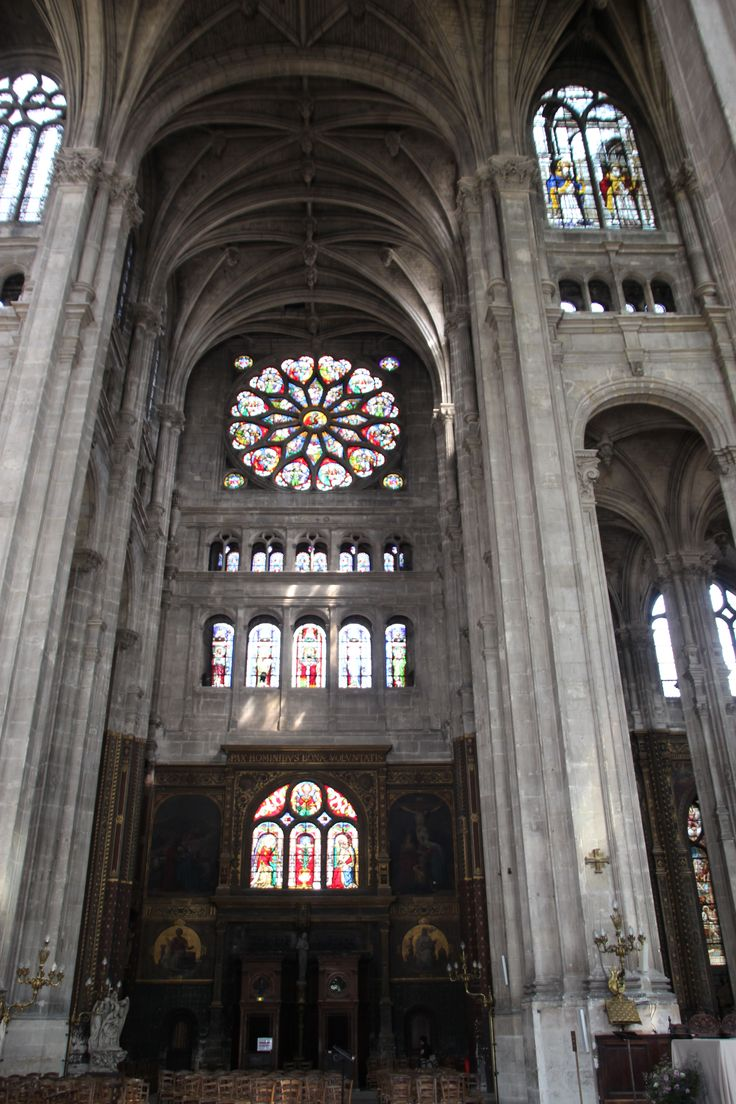 Interior of Saint Eustache
