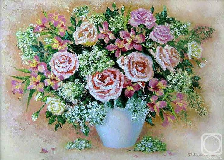 Кулишенко (Попенюк) Юлия. Букет с розами