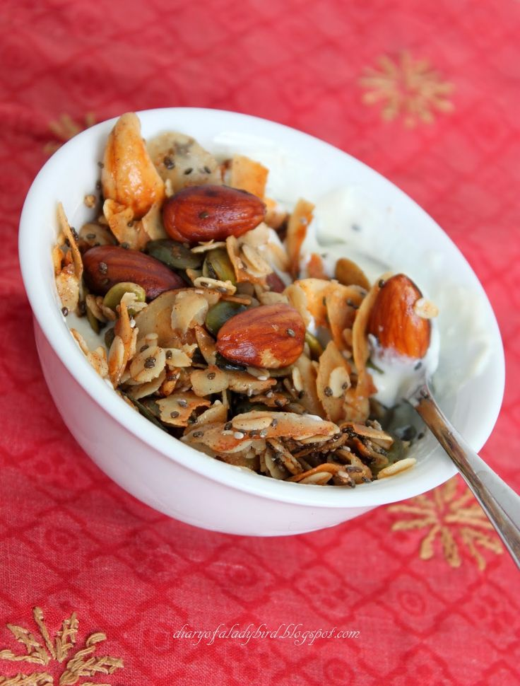 T his granola, or 'coconut crack' as it is known in my home, is a pantry staple for me nowadays. Delicious, crunchy, and so very addict...
