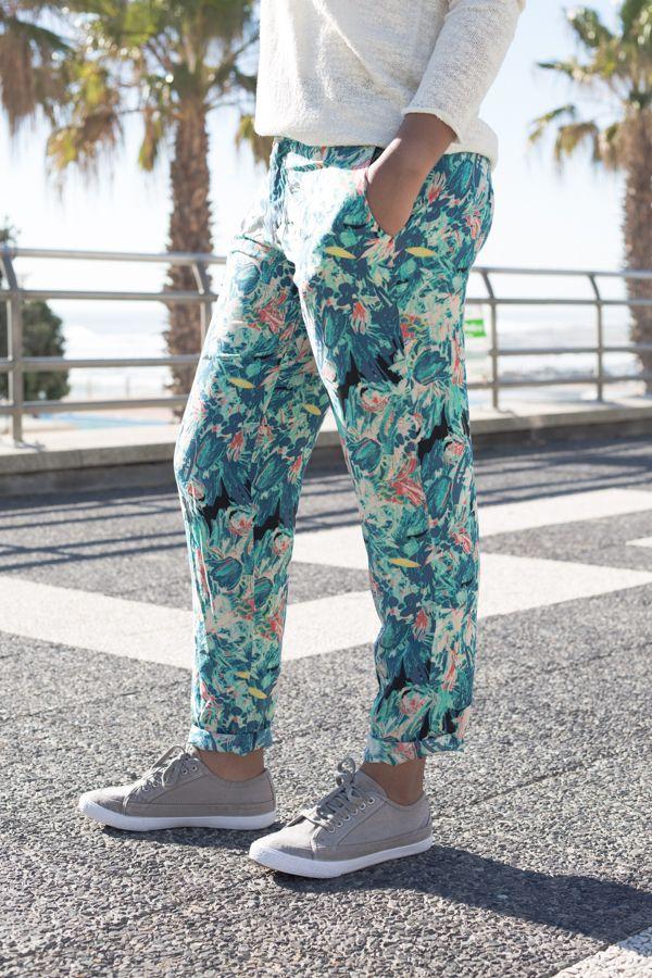 Martita Floral printed pants- Summer Must Have