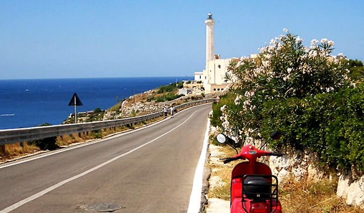 Santa Maria di Leuca is a must see place. Make sure to climb to the top of its lighthouse and take in the beautiful view.