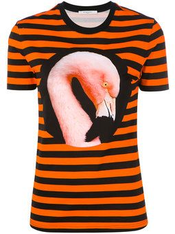 полосатая футболка 'Flamingo '