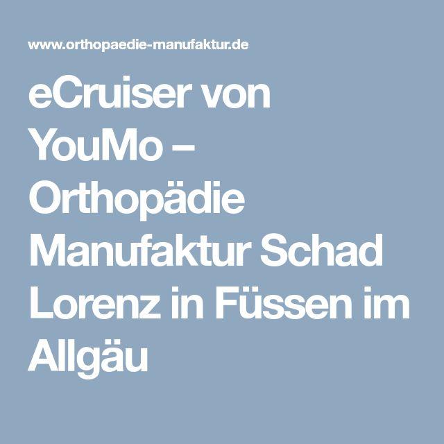 eCruiser von YouMo – Orthopädie Manufaktur Schad Lorenz in Füssen im Allgäu