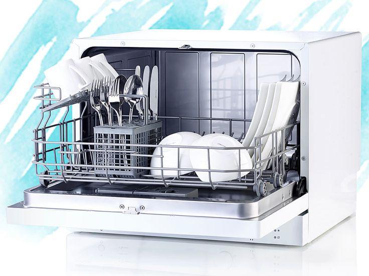 Sichler Haushaltsgeräte Tischgeschirrspüler TGS-6 für 6 Maßgedecke Sichler Haushaltsgeräte