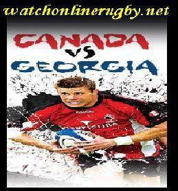 Georgia vs Canada rugby live