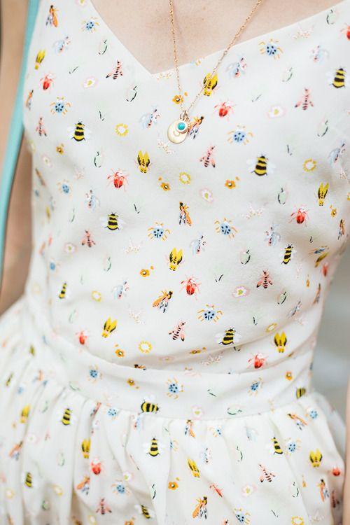 Patterns for the optimistic / @Joie Linser Linser Hudette dress