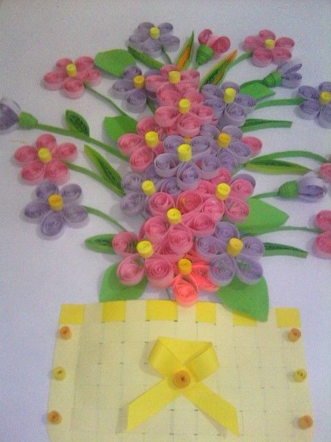 Flower quilling..so simple