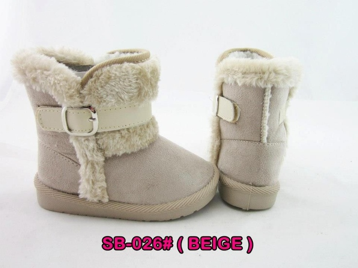 Sepatu boots Beige (SB-06)