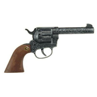 Schrödel – 2052541 – Pistolet – Colt 12 Coups – Magnum Antik – 22 Cm: A partir de 7 ans - Avec pétards. Un pistolet en métal pour jouer aux…