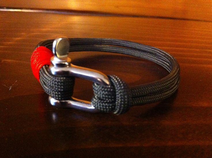 Handmade Nautical Paracord Bracelet Olive by LostCoastCreations, $18.00