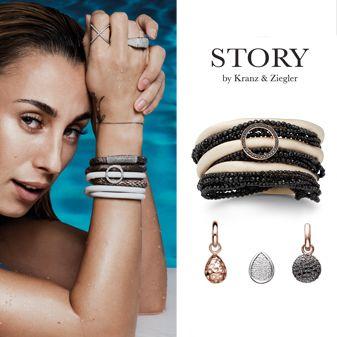Story by Kranz & Ziegler, Kranz & Ziegler Jewellery, Kranz & Ziegler Story Bracelets, Bertie Browns