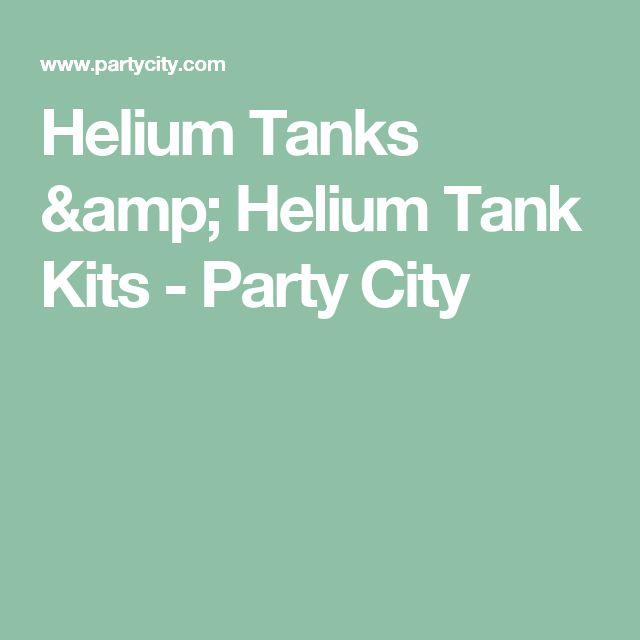 Helium Tanks & Helium Tank Kits - Party City
