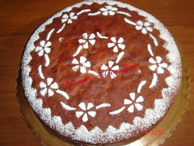 vaniglia e cioccolato: Torta soffice farcita con mascarpone al caffè