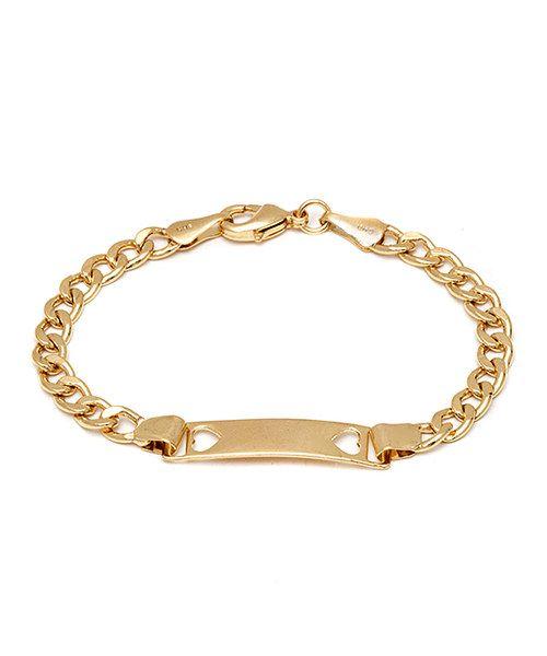 Elements Gold ID Bracelet - Gold Gold (Colour) iWVtD