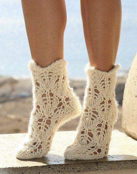 Носки. Вязание спицами